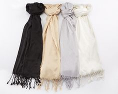 PASHMINA SHAWL – MULTIPLE COLORS AVAILABLE – PERSONALIZATION AVAILABLE