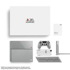 PlayStation®4 20周年紀念版 全球限量發售12,300台 - I so wanted this limited edition! Buuuut I have the original and that's fine by me lol