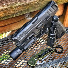My philosophy is that you should at least be carrying a handheld. Survival Skills, Survival Gear, Handgun For Women, Airsoft Ideas, Tactical Wear, Heckler & Koch, My Philosophy, Wise Men, Work Tools