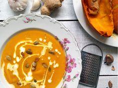 Pumpkin soup / Тыквенный крем-суп с имбирем
