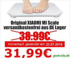 Xiaomi Mi Smart Scale Waage_Angebot_