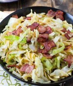 Old Time Sweet and Sour Cabbage with Bacon