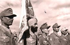 Legion Freies Indien or The Indian Legion Many are familiar with the infamous Waffen-SS and its many foreign volunteers and divisions, but few are aware of the German Army or Heer and the nearly one million foreign volunteers (and conscripts) that fought for it in the Second World War.