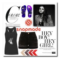 """""""SNAPMADE"""" by boliuv ❤ liked on Polyvore featuring River Island"""