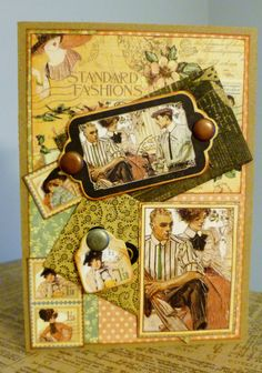 Ladies Diary by Graphic 45 card