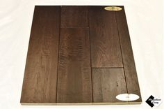 "5-9/10"" Engineered Hand-Scraped Oak Java Hardwood Flooring"