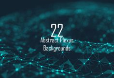 22 Abstract Backgrounds by QtraxDzn on @creativemarket