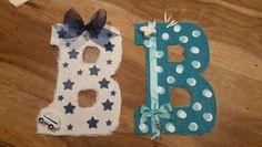 "Letterine decorate ""B"""