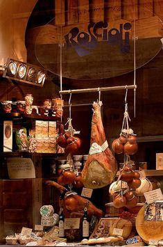 Butcher Shop, Rome, Italy