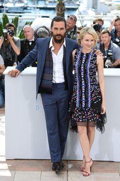 Pin for Later: Personnalités Françaises et Stars Hollywoodiennes Ont Envahi Cannes Jour 4 Matthew McConaughey et Naomi Watts