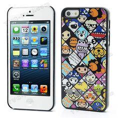 Cute Cartoon Characters iPhone 5 Shield Durable Hard Case Shell  $1.92