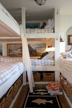 Bunk beds - a great spare room idea for grandkids