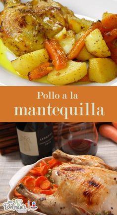 Cocina – Recetas y Consejos Meat Recipes, Mexican Food Recipes, Chicken Recipes, Cooking Recipes, Healthy Recipes, Pollo Guisado, Colombian Food, Peruvian Recipes, Latin Food