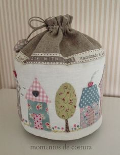 Sewing time: Bags handmade