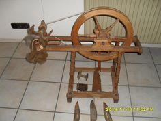 Spinnrad, gedrechseltes Holz, antik in Niedersachsen - Oldenburg   eBay Kleinanzeigen