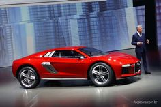Debuted at the Frankfurt Auto Show, this Audi Nanuk Quattro Concept really stood out to me as an All-Terrain supercar...