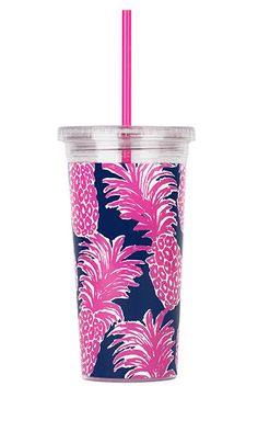 Lilly Pulitzer Acrylic Tumbler with Straw - Flamenco by Lilly Pulitzer from THE LUCKY KNOT - 2