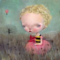 A arte melancólica de Dilka Bear – BLCKDMNDS