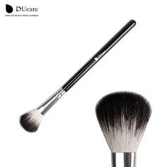 DUcare Multifunctional Goat Hair Makeup Brush  Powder Blending Uniform Brush highlight makeup brush free shipping