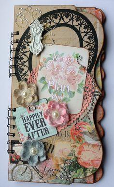 Engagement Wedding Planner Journal Scrapbook by Scraputante, $26.00