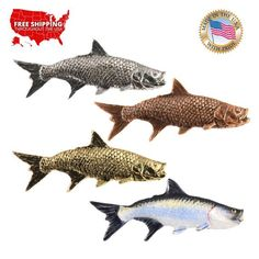 TARPON FISH LAPEL PIN