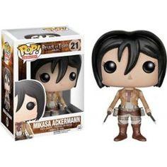 Figurine Pop Attaque Des Titans Mikasa Ackerman