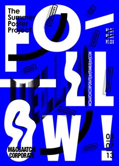 """jimbobarbu: ""The summer poster project — pt. Barbu for MC Saatchi Corporate "" Graphic Design Posters, Graphic Design Typography, Graphic Design Inspiration, Typographie Fonts, Posters Conception Graphique, Typography Images, Summer Poster, Graphisches Design, Plakat Design"