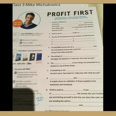"Keynote is from author Michael Michalowicz, author of Profit First. He is teaching the way we teach entrepreneurs which is ""sales minus profit equals expenses"". Training Academy, Home Staging, Keynote, Equality, Behavior, Entrepreneur, Author, Teaching, How To Make"