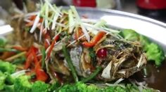 DIY Singapore Food (5) Deep Fried Largemouth Bass with Thai Sauce  http://easydiy365.com/?p=36873
