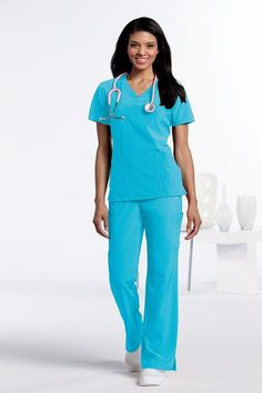 74e037c7190 Step it up with style and function with this squared crossover v-neckline  top is
