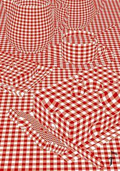 Optical art picknick