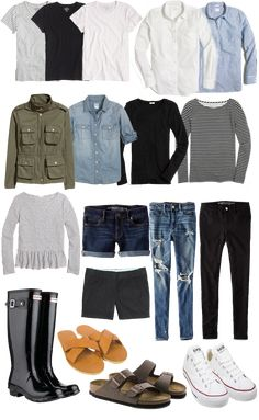 My Spring & Summer 2017 Capsule Wardrobe - Happily Ever Ashley Rogers