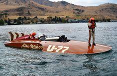 U-77 Miss Wahoo classic unlimited class hydroplane hydroplanes hydro hydros racing boat boats