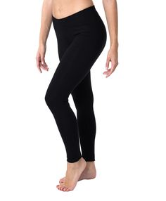 Super soft organic women's long leggings from Wear PACT. Comfortable Fair Trade Certified cotton leggings, ideal for working out or louging around. Shop organic now!