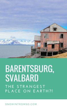 Considering a visit to Svalbard? Click through to the article to read more about the possibly strangest place in the world, Barentsburg, and why you should visit! Trondheim, Stavanger, Arctic Cruise, Longyearbyen, Visit Russia, Polar Night, Alesund, Visit Norway, Norway Travel