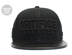 Artifice Records Snapback Cap by WIP CAPS