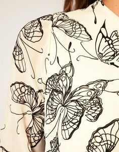 butterfly textile