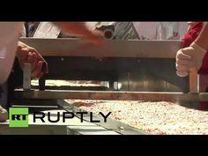 Längste Pizza der Welt: Mailand - Eine Mega-Margherita fürs Weltkulturerbe | traveLink