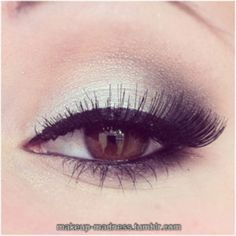 Image result for makeup with a seafoam green dress