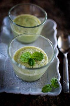 le gaspacho de concombre : la soupe froide et rafraichissante par excellence !