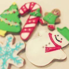 クリスマス アイシング クッキー