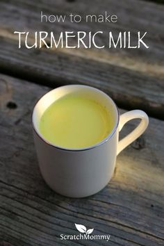 Turmeric milk has be