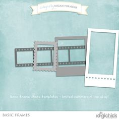 Free commercial use digital frame templates