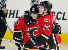 Colorado Avalanche vs. Calgary Flames - Photos - January 31, 2013 - ESPN FIRST STAR: #24 Jiri Hudler, Flames