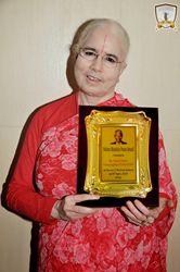 Nelson Mandela Peace Award Bestowed on the Charitable Organization Supported by Austin Based Hindu Temple #JKP #Education #Nelson #Mandela #Peace #Award #Austin #jagadguru #kripalu #parishat