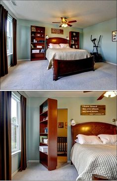 Hidden Rooms You Will Want In Your Own House 5 (Hidden Rooms You Will Want In Your Own House design ideas and photos - Dream House Rooms Hidden Spaces, Hidden Rooms, Hidden Panic Rooms, Hidden House, Safe Room, Secret Rooms, Cool Rooms, My Dream Home, Home Projects
