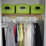 Day #5: Organizing Your Closet