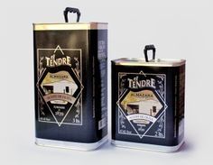 EL TENDRE - OLIVE OIL CAN by Josh Mahaby, via Behance