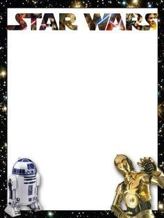 star wars invitations free printable - Google Search
