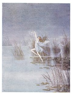 Ida Rentoul Outhwaite -A little Mist played over the pond